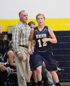 Stephenville head coach Alan Thorpe and Lariat Larner.    Photo by BRAD KEITH