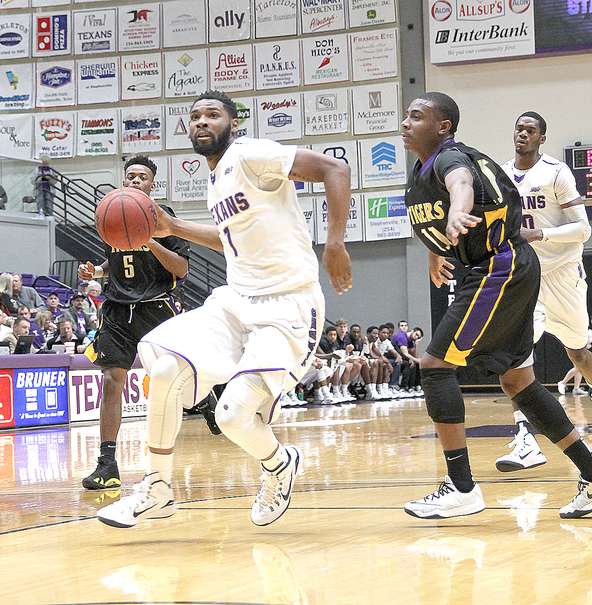 Tarleton State and Malcolm Hamilton host Midwestern State today, women at 5:30 p.m. and men at 7:30 at Wisdom Gym. || Photo courtesy Dr. CHET MARTIN