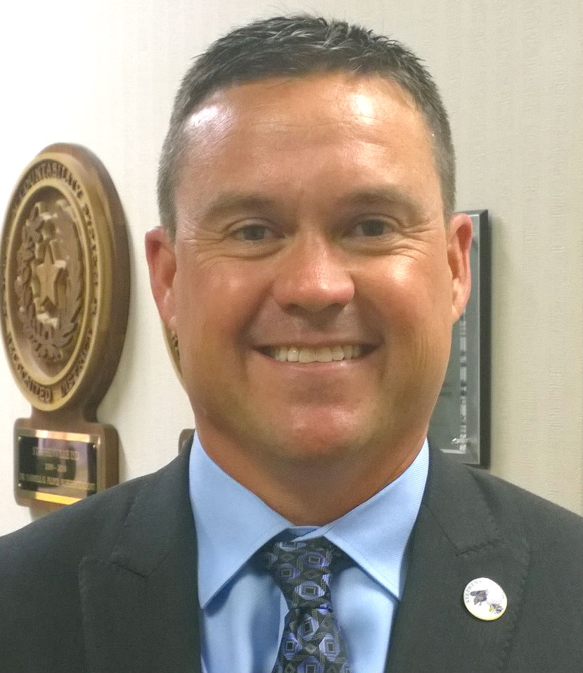 Stephenville superintendent Matt Underwood