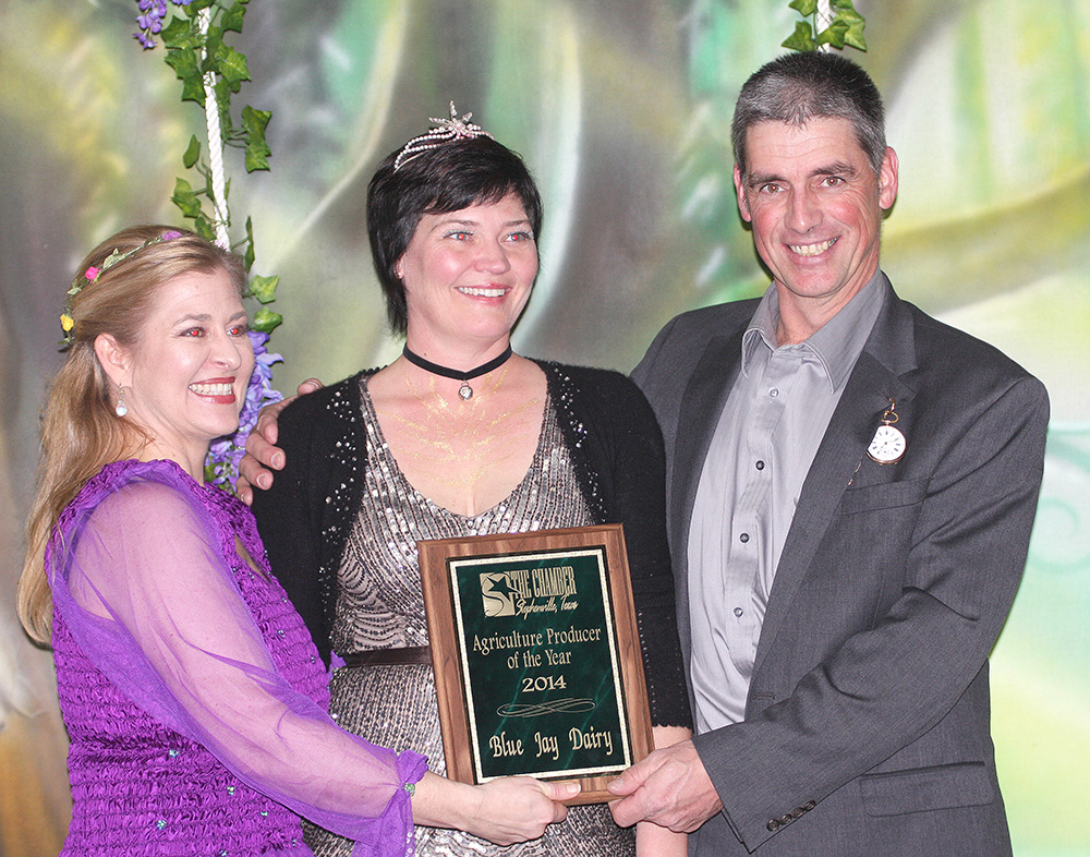 Ag Producer of Year - Johan  and Sonya Koke with Blue Jay Dairy and Blue Bonnet Dairy