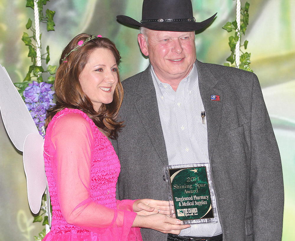 Shinning Spur Award winner - Ed Horton, Tanglewood Pharmacy