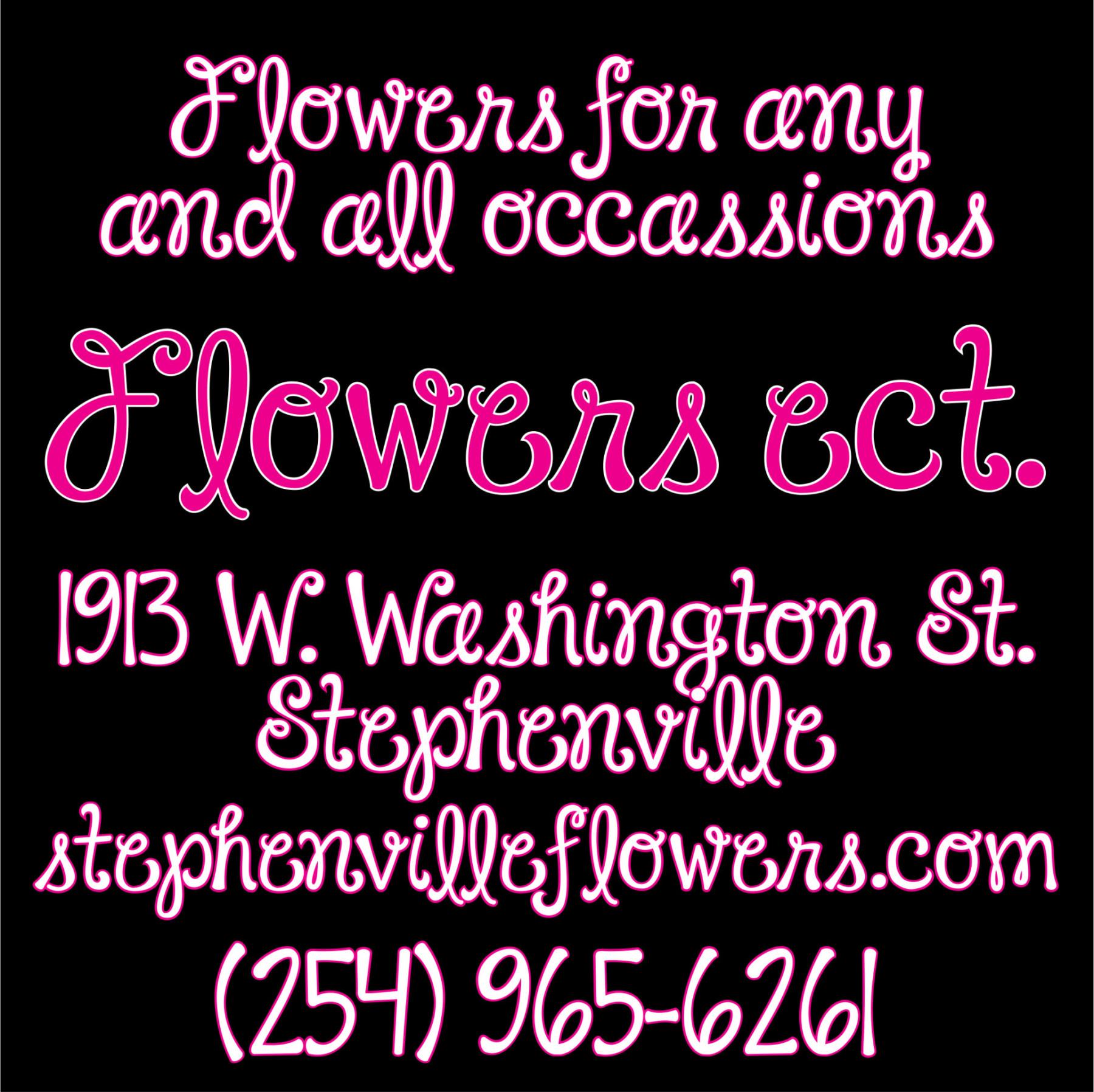 Flowers ect