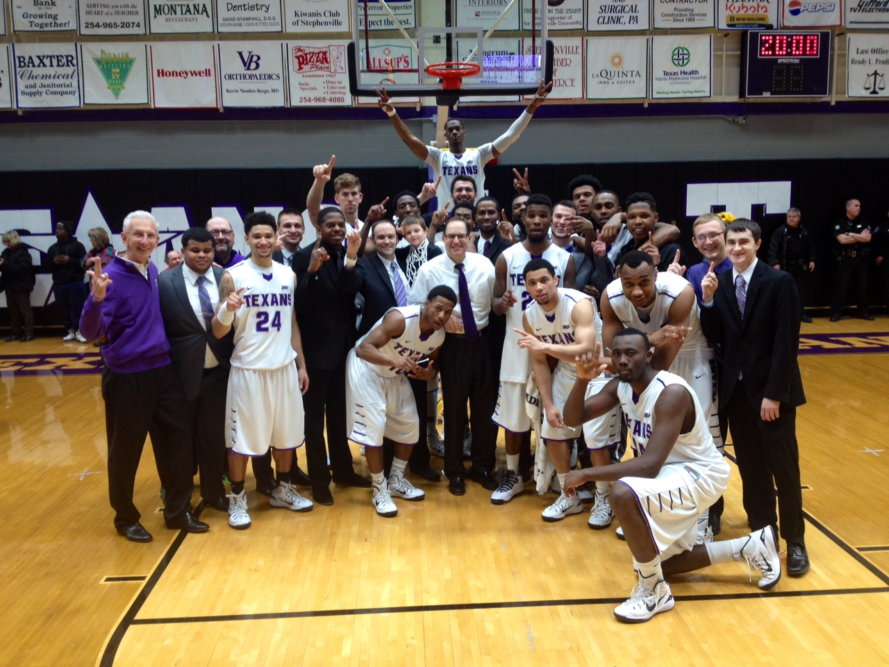 Tarleton State is the 2014-15 Lone Star Conference regular season champs. || Photo courtesy Dr. CHET MARTIN