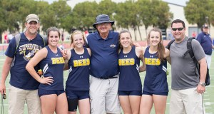 Legendary Stephenville coach Mike Copeland will not return to the Yellow Jacket football team this fall, but hopes to continue as head coach of Honeybe track and field.    Courtesy Dr. CHET MARTIN