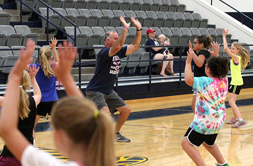 Honeybee basketball camp 17
