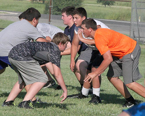 Freshman FB Camp 03
