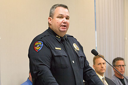 Police Chief Jason King now has a better ordinance in place that gives his officers better controls over parking.