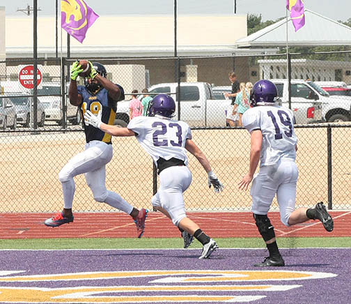 Sville-Liberty Hill scrimmage 03