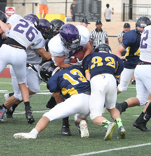 Sville-Liberty Hill scrimmage 15