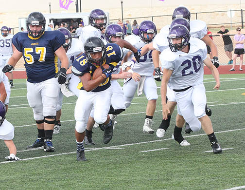 Sville-Liberty Hill scrimmage 19