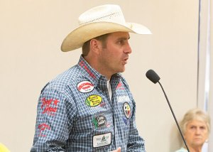 National Finals Rodeo qualifier Charlie Crawford and his wife, Jackie spoke about their love for Stephenville and the amazing reception local cowboys receive from the community.