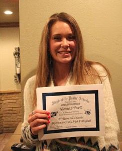 Stephenville middle Nicona Stilwell has been selected to compete in a junior all-star game.