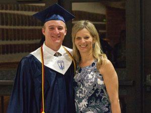 Ben and his mother, Gina Martin. || Courtesy CHET MARTIN