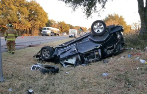 Wreck on 281 S 02