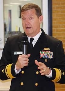 Rear Admiral Luke McCollum