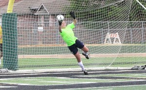 Howle diving save