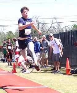 Josh Nowell triple jump