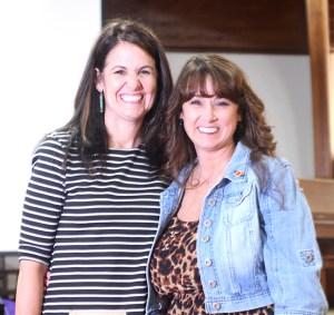 Amber Lemons of Hook Elementary School and Lisa Spence of Gilbert Intermediate School are the Stephenville ISD elementary and secondary teachers of the year. They were presented the awards on May 5 and were recognized at the May board meeting on Monday.