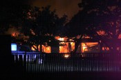 Hico House Fire 1