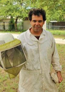Strephenville area beekeeper Dan Ranca had his hands full with 50,000 honeybees needing removal to a new home.