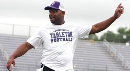 Marcus Patton has left Colorado Mesa to become defensive coordinator at Tarleton State, where the Texans are preparing for the 2016 season. || TheFlashToday.com photo by BRAD KEITH