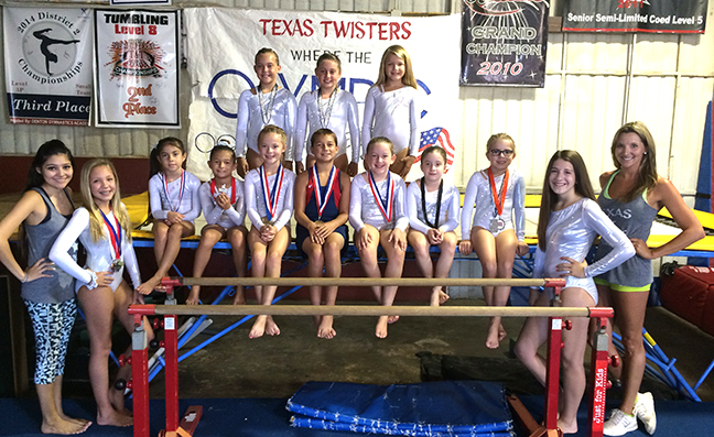 Twisters Junior Olympics team