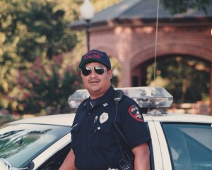 Gaitan working for Stephenville PD in the 90's.
