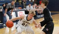 Stephenville and junior guard Cole Pettit resume 8-4A district play at Venus Tuesday. || TheFlashToday.com photo by BRAD KEITH