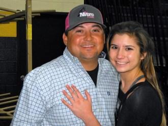 Adam Carrillo and Daughter, Haden Carrillo (Stephenville)