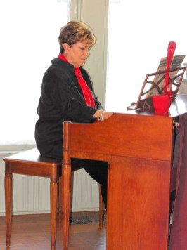 V-Day Musical Marion Cole plays