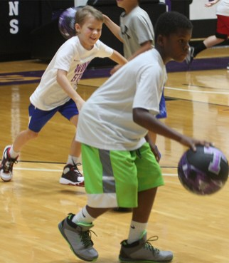 Dribble tag Texan hoops camp 15