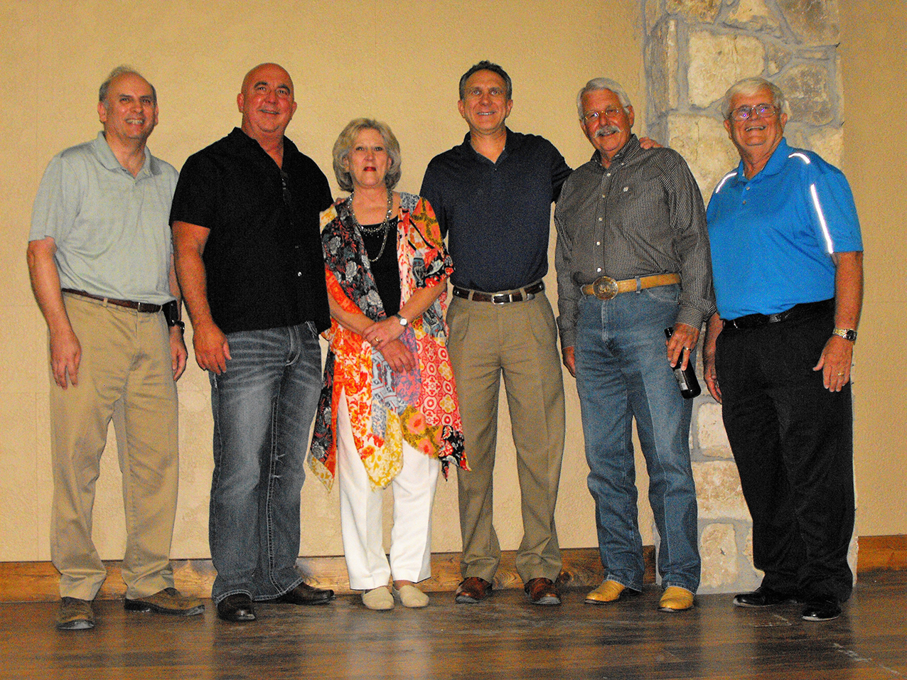 Stafford Retirement Cindy with City Administrators