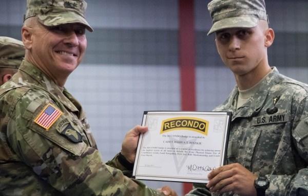 Tarleton Cadet Earns Prestigious U S Army Rotc Award The Flash Today
