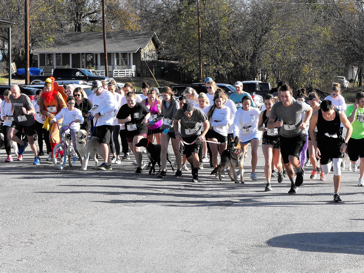 Delta Zeta Turkey Trot 25