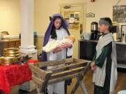Mulberry Manor Christmas Mary, Joseph and Baby Jesus