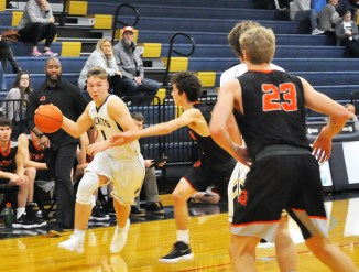 Stephenville is 2-0 in District 8-4A games after beating Venus 63-40 at Gandy Gym Tuesday. || Flash staff photo