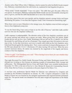 Four Chaplains Program 2 Four Chaplains Story Page 3