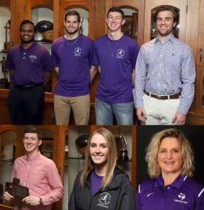 Tarleton kinesiology students receive awards during TACSM meeting