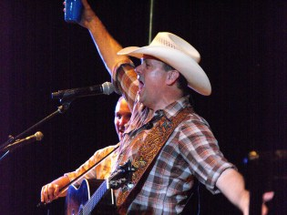 Roger Creager at Summer Nights Concert 4