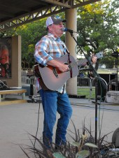 Roger Creager at Summer Nights Concert Scott Kirby 2