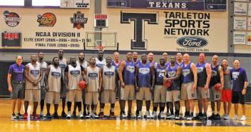 Texan Alumni Basketball game 1