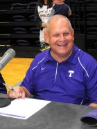 Texan Alumni Basketball game 2