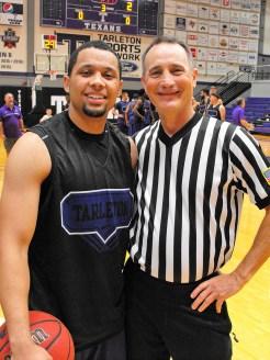 Texan Alumni Basketball game 22