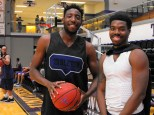 Texan Alumni Basketball game 27