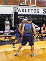 Texan Alumni Basketball game 38