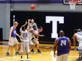 Texan Alumni Basketball game 50