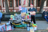Car Club Toy Drive Daniel Brock and Clifford Saxon