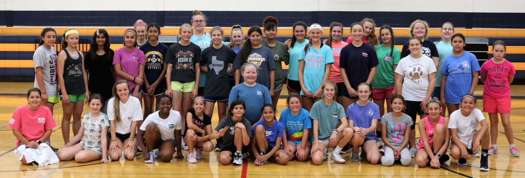 Honeybee Basketball Camp 1
