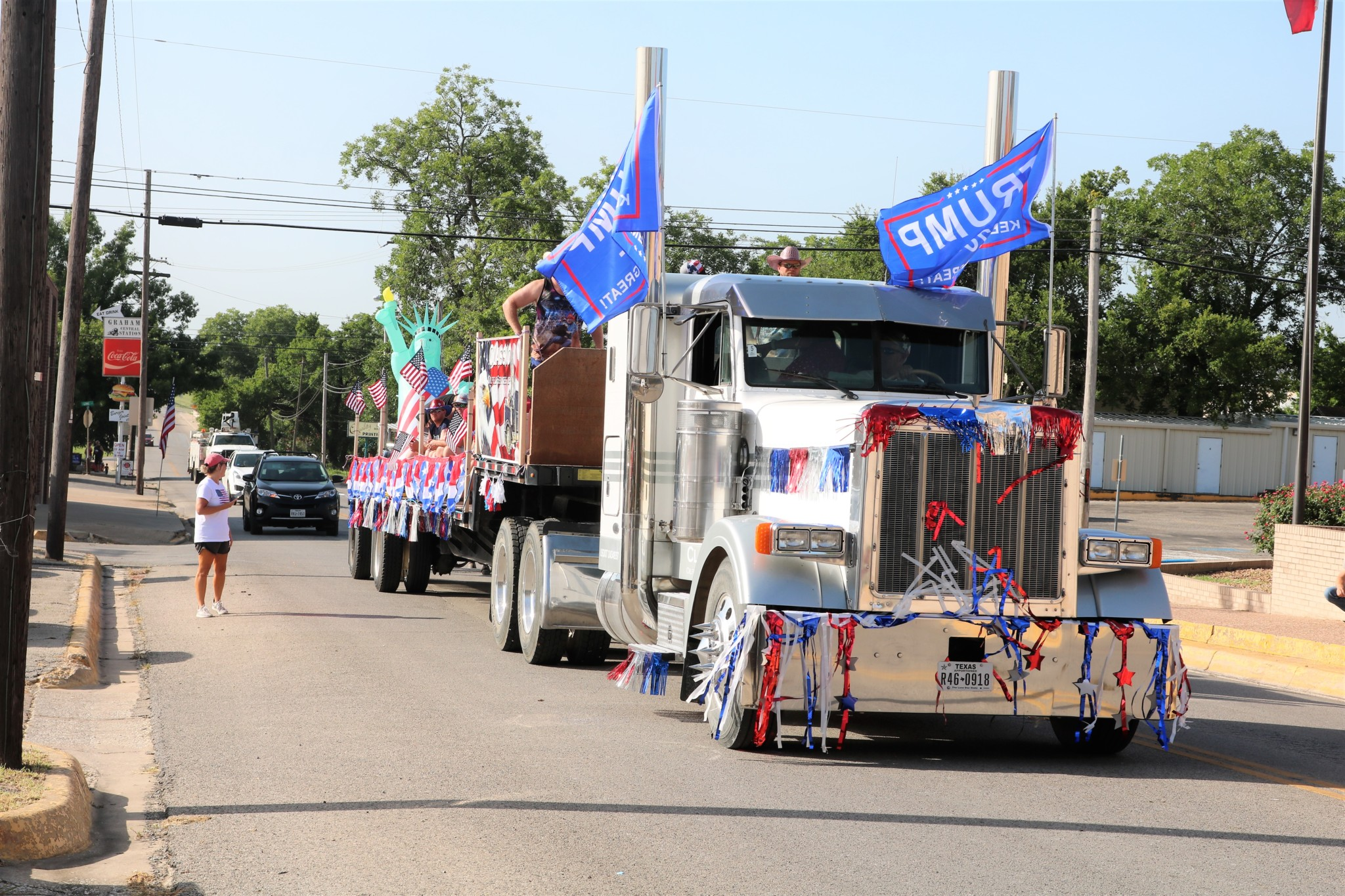 Unofficial July 4th Parade 1