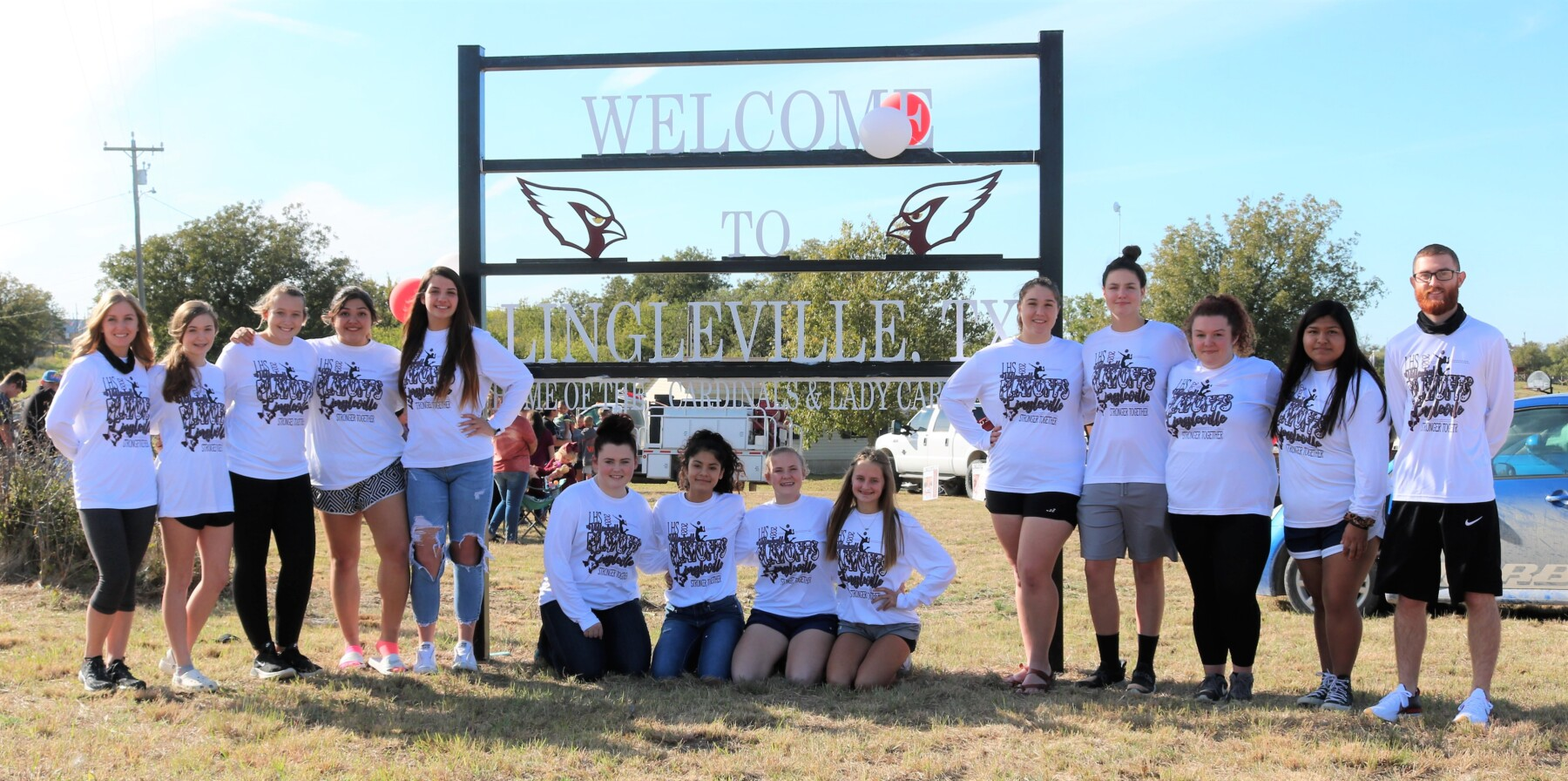 Lingleville Send off 1 Lady Cardinals 2020 Volleyball team